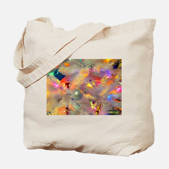 Jazzy neon tree Tote Bag