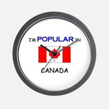I'm Popular In CANADA Wall Clock