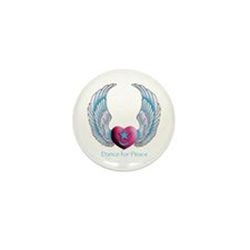 Dance for Peace Mini Button (100 pack)