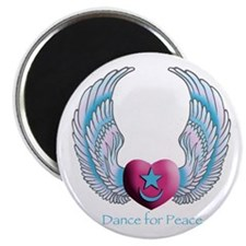 "Dance for Peace 2.25"" Magnet (10 pack)"