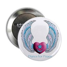 "Dance for Peace 2.25"" Button (10 pack)"