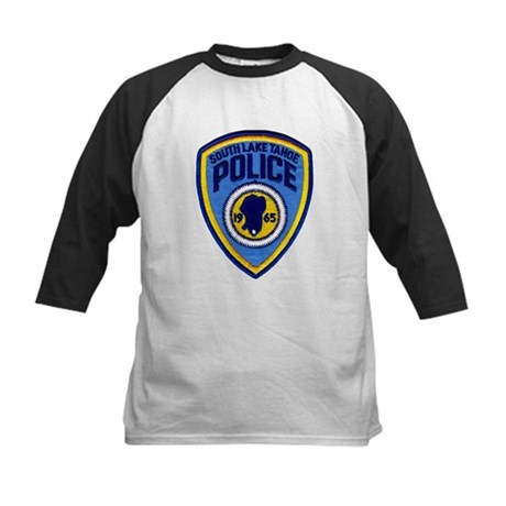 South Lake Tahoe PD Kids Baseball Jersey