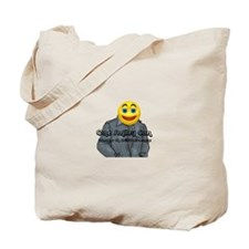One Smiley Can Make A Difference Smiley Tote Bag