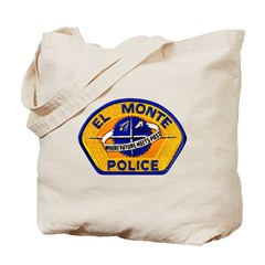 El Monte Police Tote Bag
