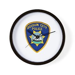 Suisun City Police Wall Clock