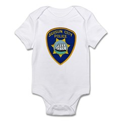 Suisun City Police Infant Bodysuit