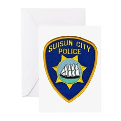 Suisun City Police Greeting Cards (Pk of 10)