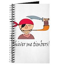 Shiver Me Timbers! Journal