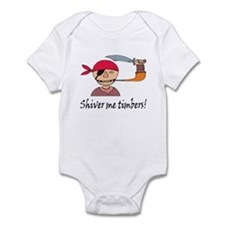 Shiver Me Timbers! Infant Bodysuit