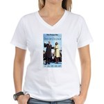 Day of Change Front Page Women's V-Neck T-Shirt
