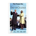 Day of Change Front Page Mini Poster Print
