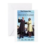 Day of Change Front Page Greeting Cards (Pk of 20)