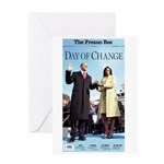 Day of Change Front Page Greeting Card