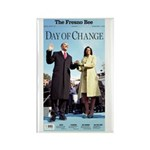 Day of Change Front Page Rectangle Magnet