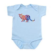 Whimsical Kitty 1 Infant Bodysuit