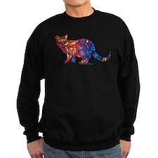 Whimsical Kitty 1 Sweatshirt