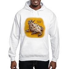 Horned Lizard Horny Toad Hoodie