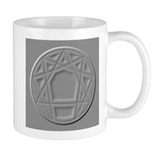 Enneagram in Gray Mug