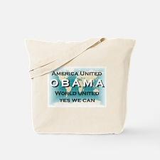 Cute Obama tote Tote Bag