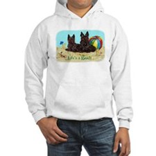 Life's a Beach Scottish Terri Hoodie