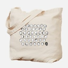 Forty Four Presidents Tote Bag