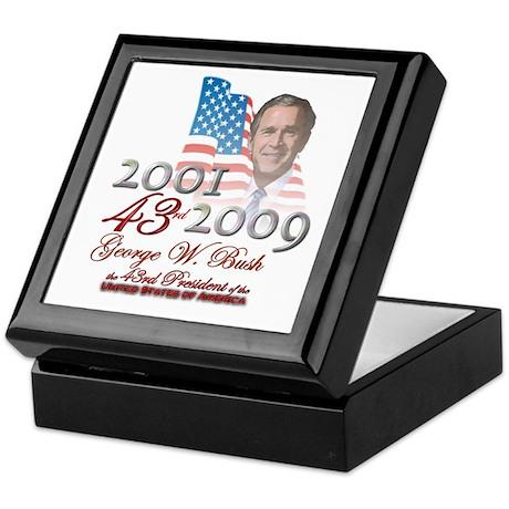 43rd President - Keepsake Box