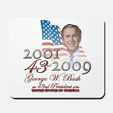 43rd President - Mousepad