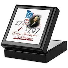 1st President - Keepsake Box