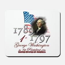 1st President - Mousepad