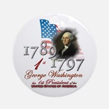 1st President - Ornament (Round)