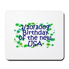 New Birthday for the USA Mousepad