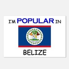 I'm Popular In BELIZE Postcards (Package of 8)