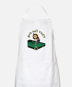 Light Billiards BBQ Apron