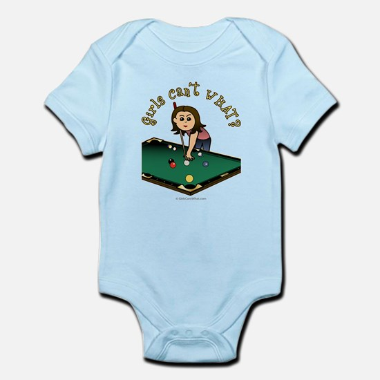 Light Billiards Infant Bodysuit