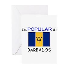 I'm Popular In BARBADOS Greeting Card