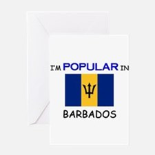 I'm Popular In BARBADOS Greeting Card