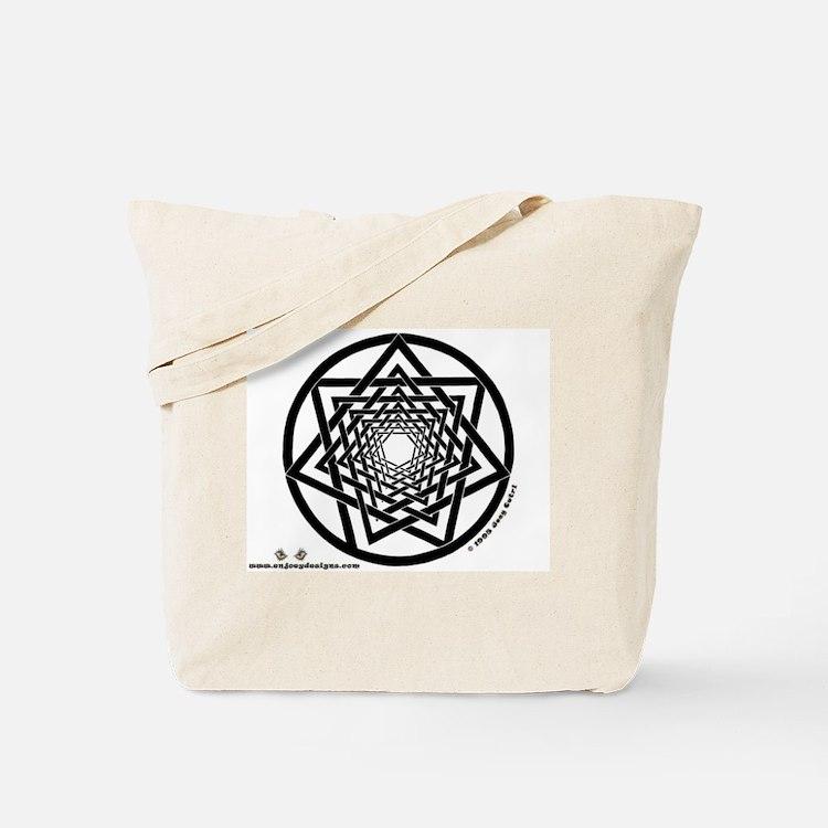 Spiral Heptagram - Tote Bag