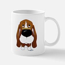 Basset Hound Valentine's Day Mug