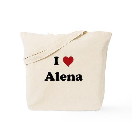 I love Alena Tote Bag