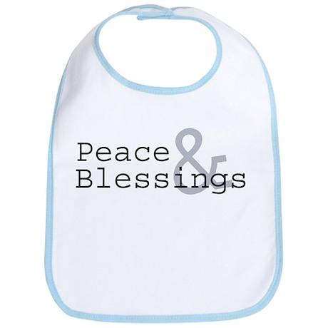 Peace & Blessings Bib