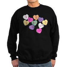 Anti Valentine's Candy Hearts Sweatshirt