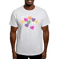 Anti Valentine's Candy Hearts T-Shirt