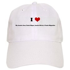 I Love My Auntie Jean, Uncle Baseball Cap