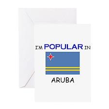 I'm Popular In ARUBA Greeting Card
