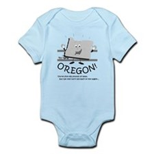 Cute Oregon trail Infant Bodysuit