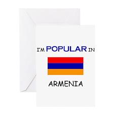 I'm Popular In ARMENIA Greeting Card