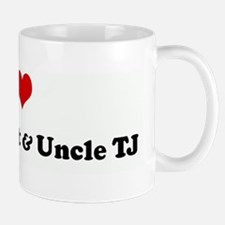 I Love Auntie Janet & Uncle T Mug