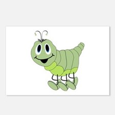 Inchworm Postcards (Package of 8)