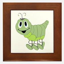 Inchworm Framed Tile