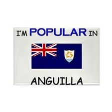 I'm Popular In ANGUILLA Rectangle Magnet
